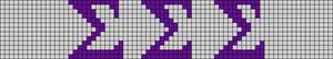 Alpha pattern #78124