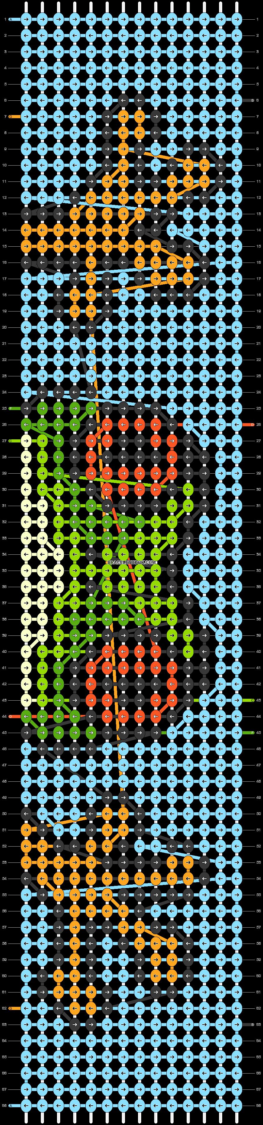 Alpha pattern #78262 pattern