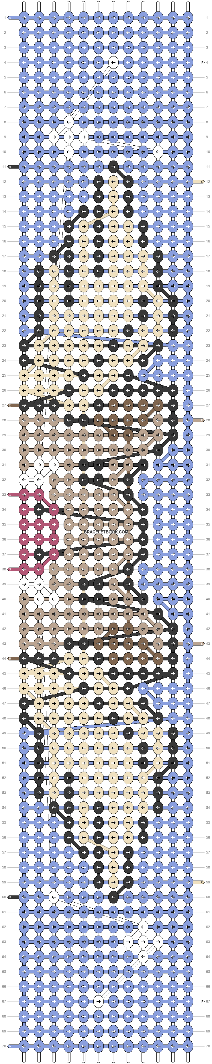 Alpha pattern #78263 pattern