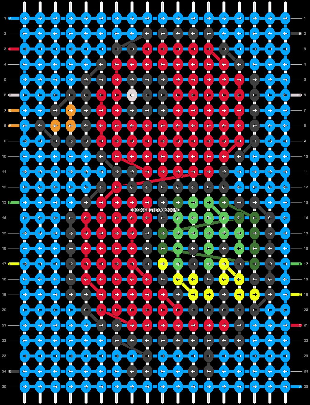 Alpha pattern #78289 pattern