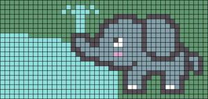 Alpha pattern #78304