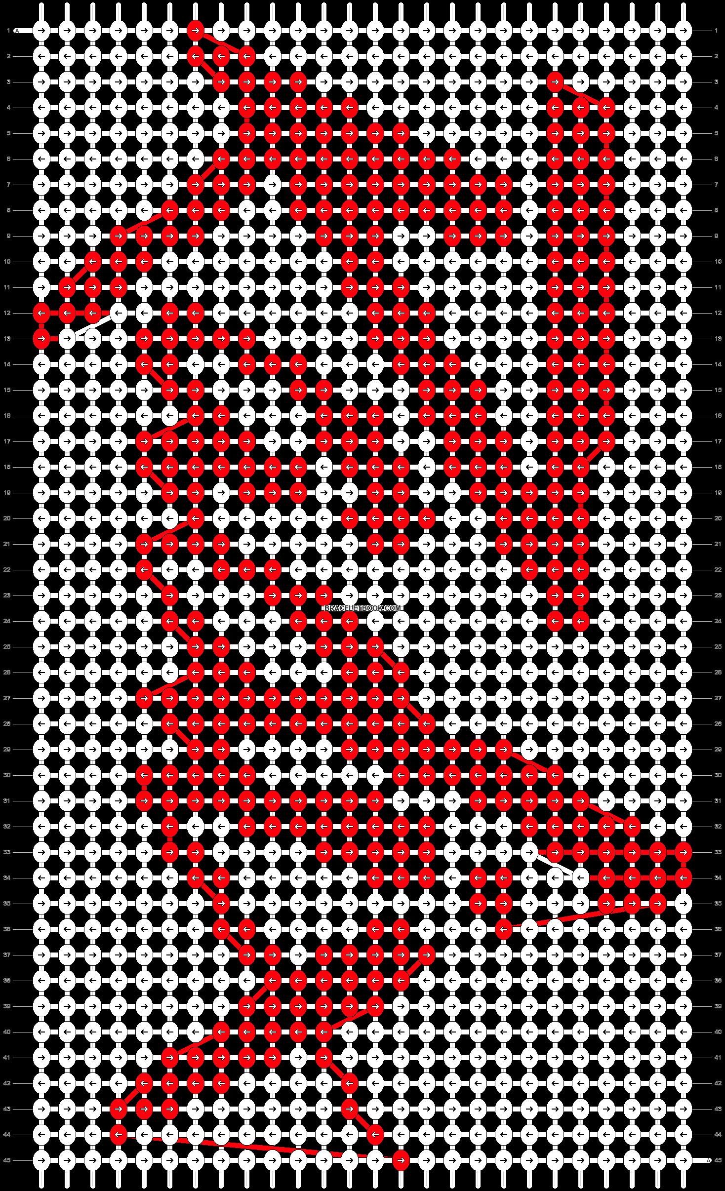 Alpha pattern #78398 pattern