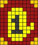 Alpha pattern #78441