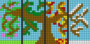 Alpha pattern #78444
