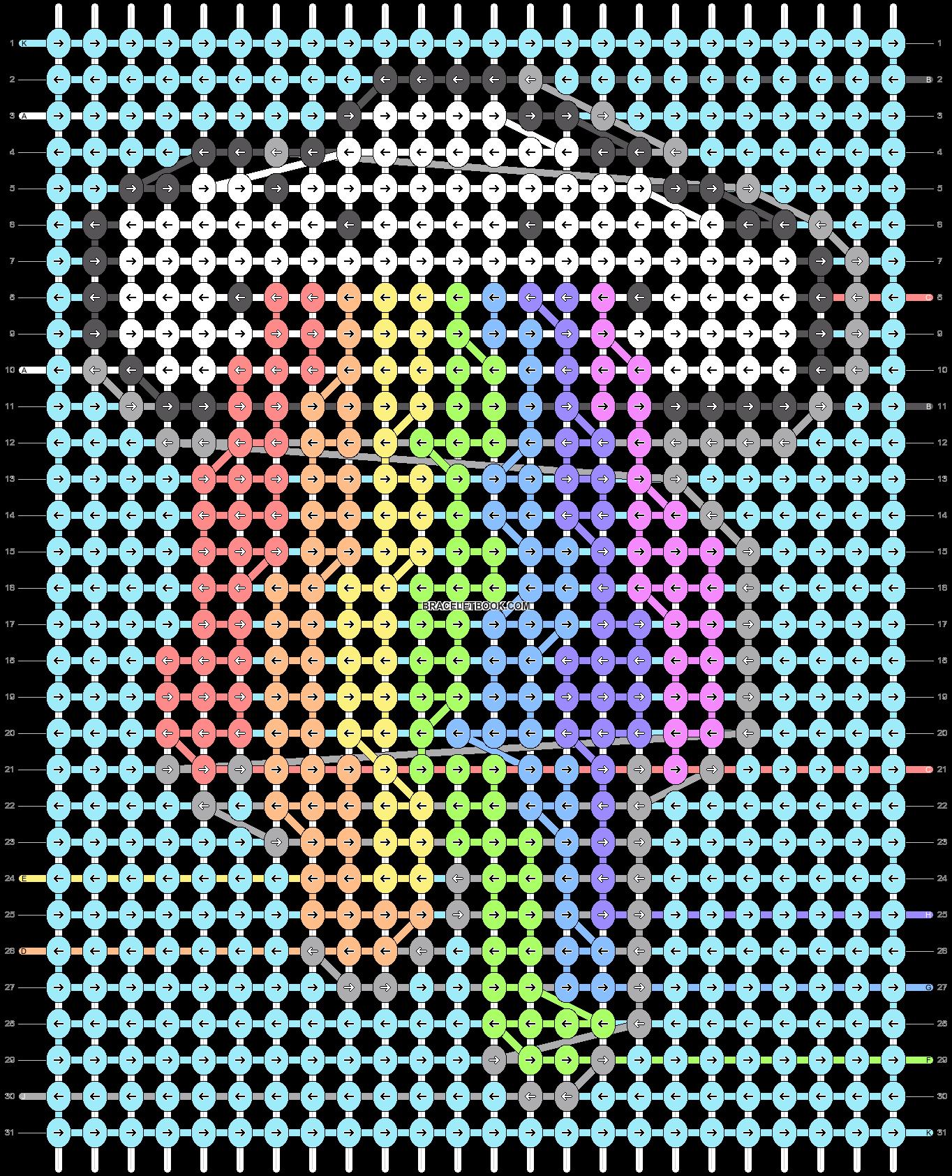 Alpha pattern #78448 pattern