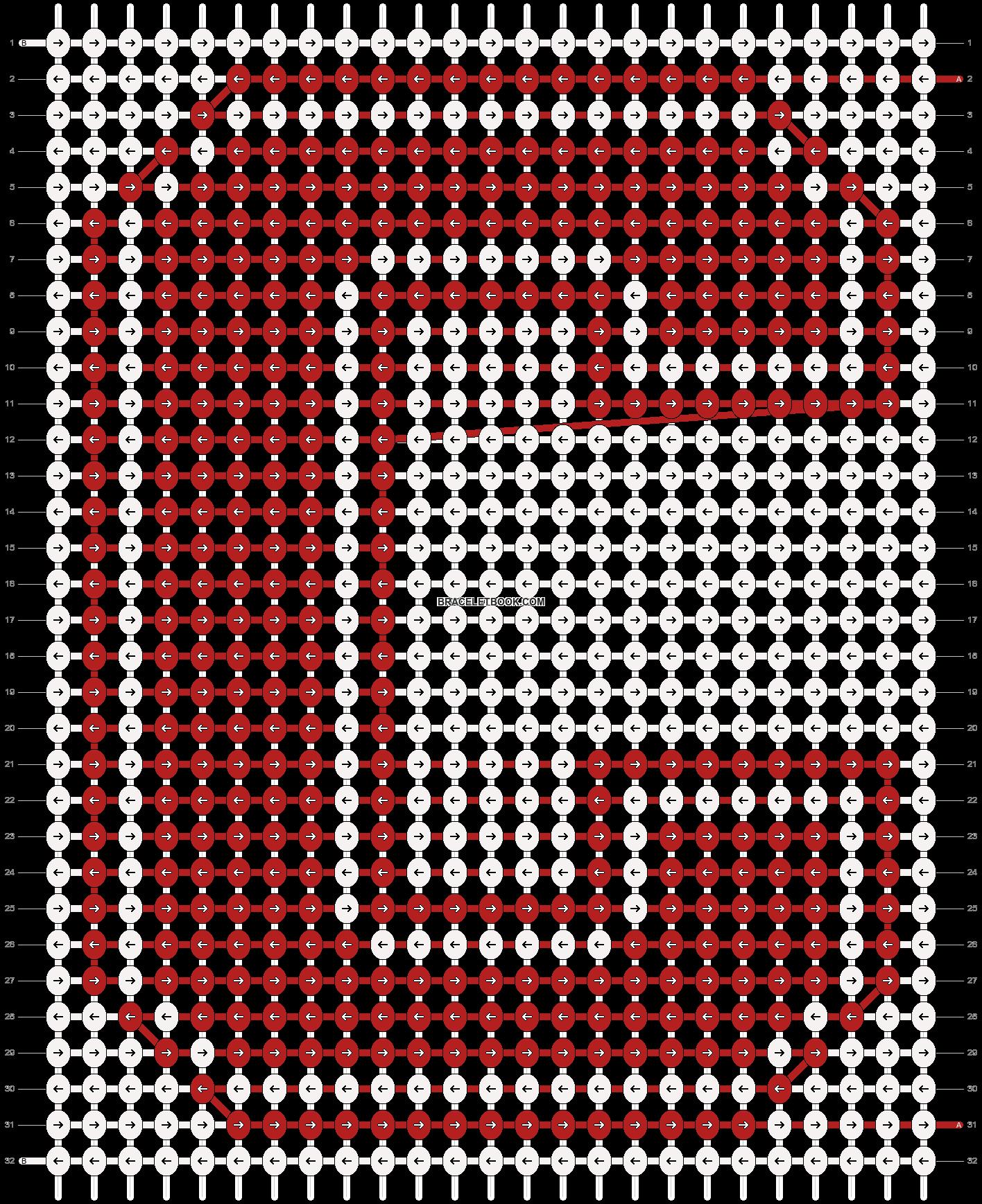 Alpha pattern #78456 pattern