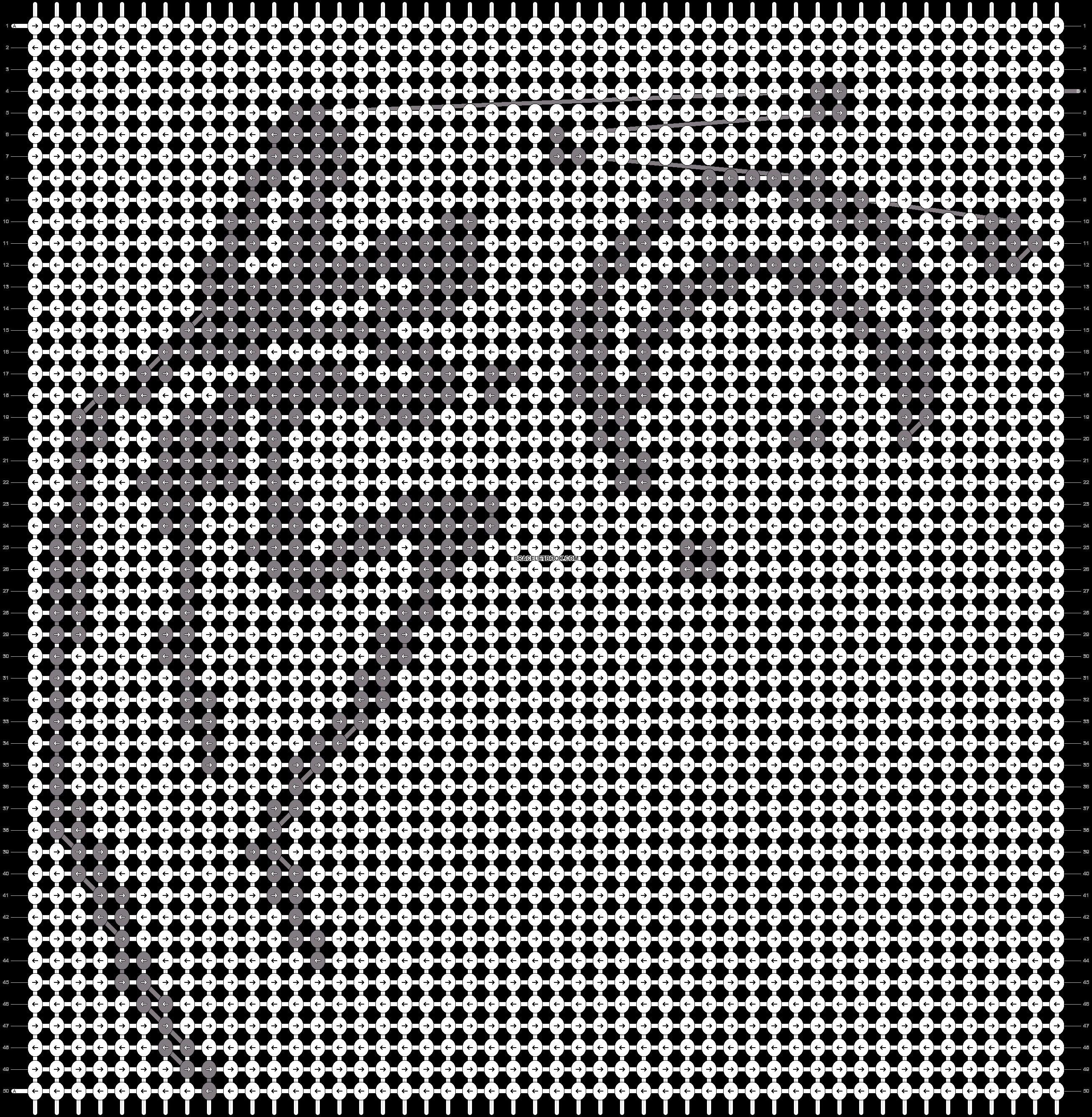 Alpha pattern #78474 pattern