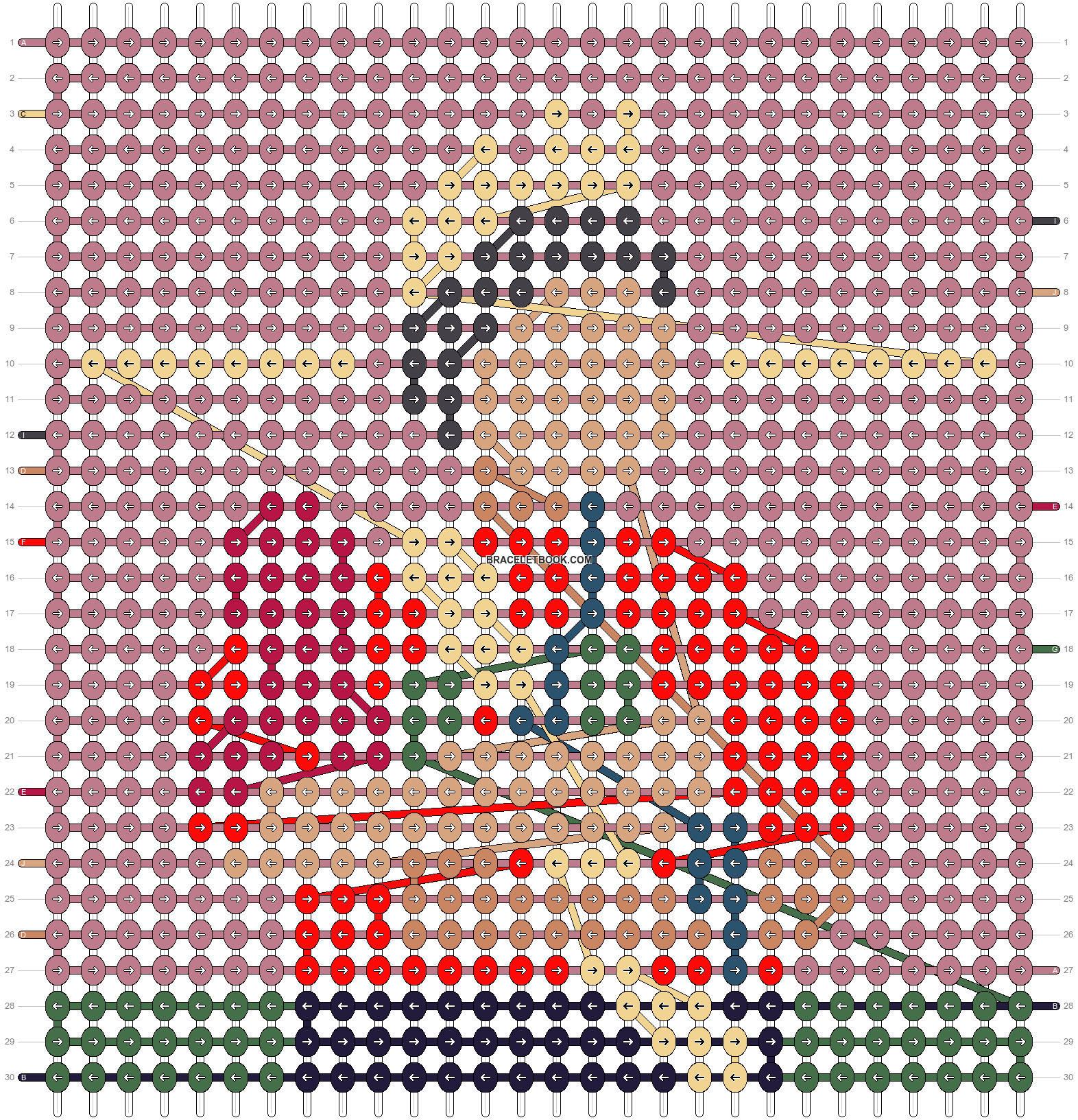 Alpha pattern #78550 pattern