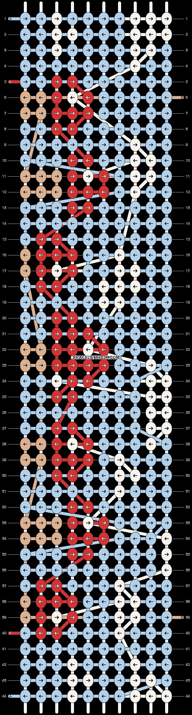 Alpha pattern #78565 pattern
