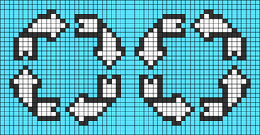 Alpha pattern #78593