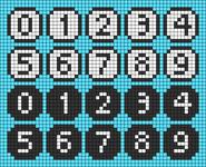 Alpha pattern #78594