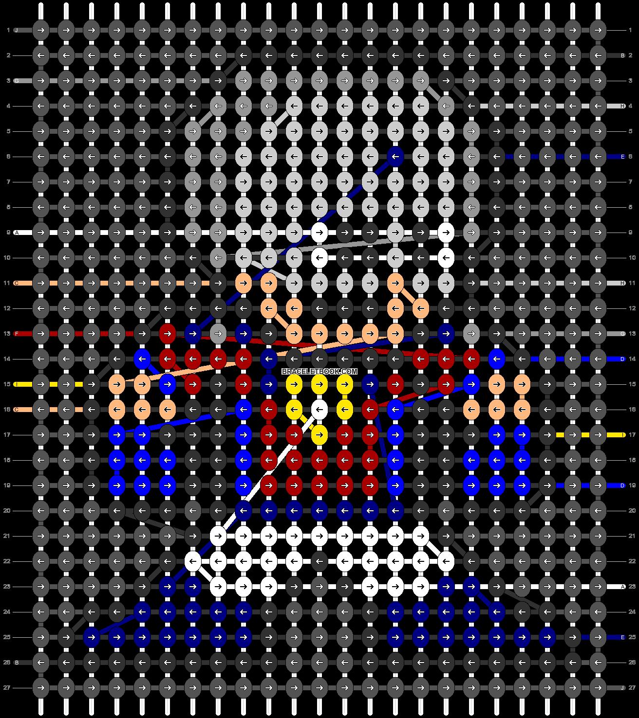 Alpha pattern #78631 pattern