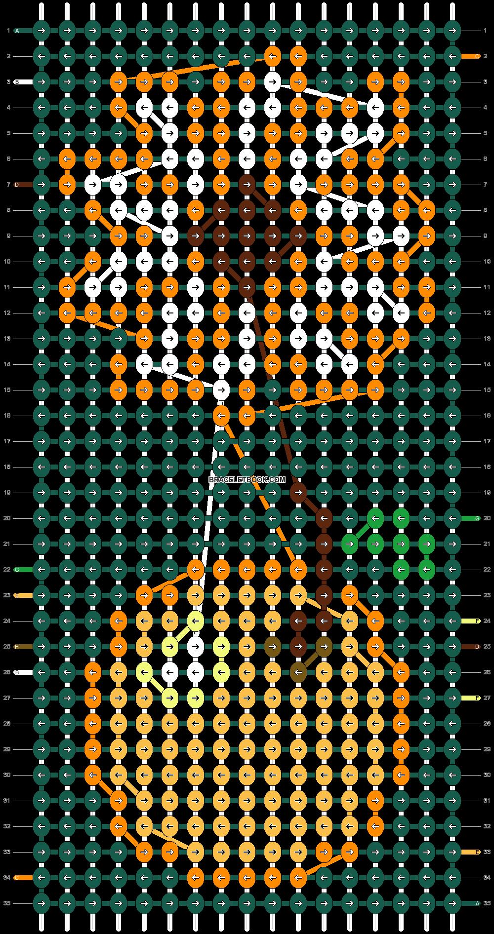 Alpha pattern #78637 pattern