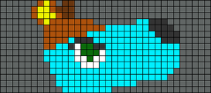 Alpha pattern #78654