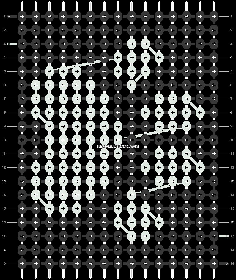 Alpha pattern #78661 pattern