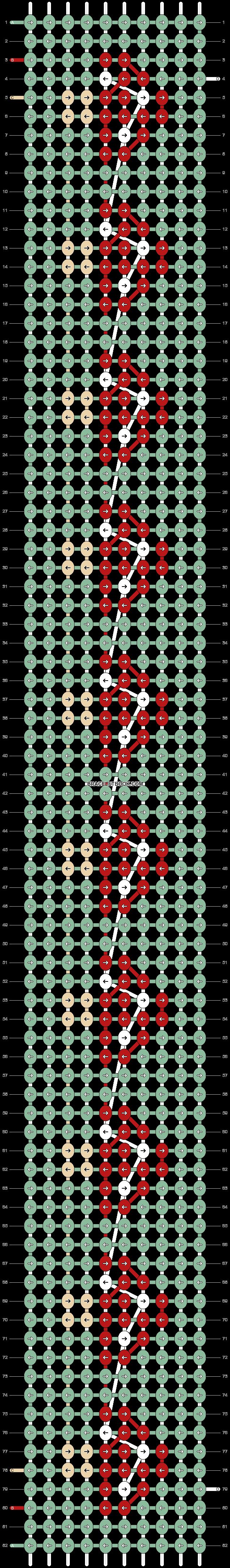 Alpha pattern #78662 pattern