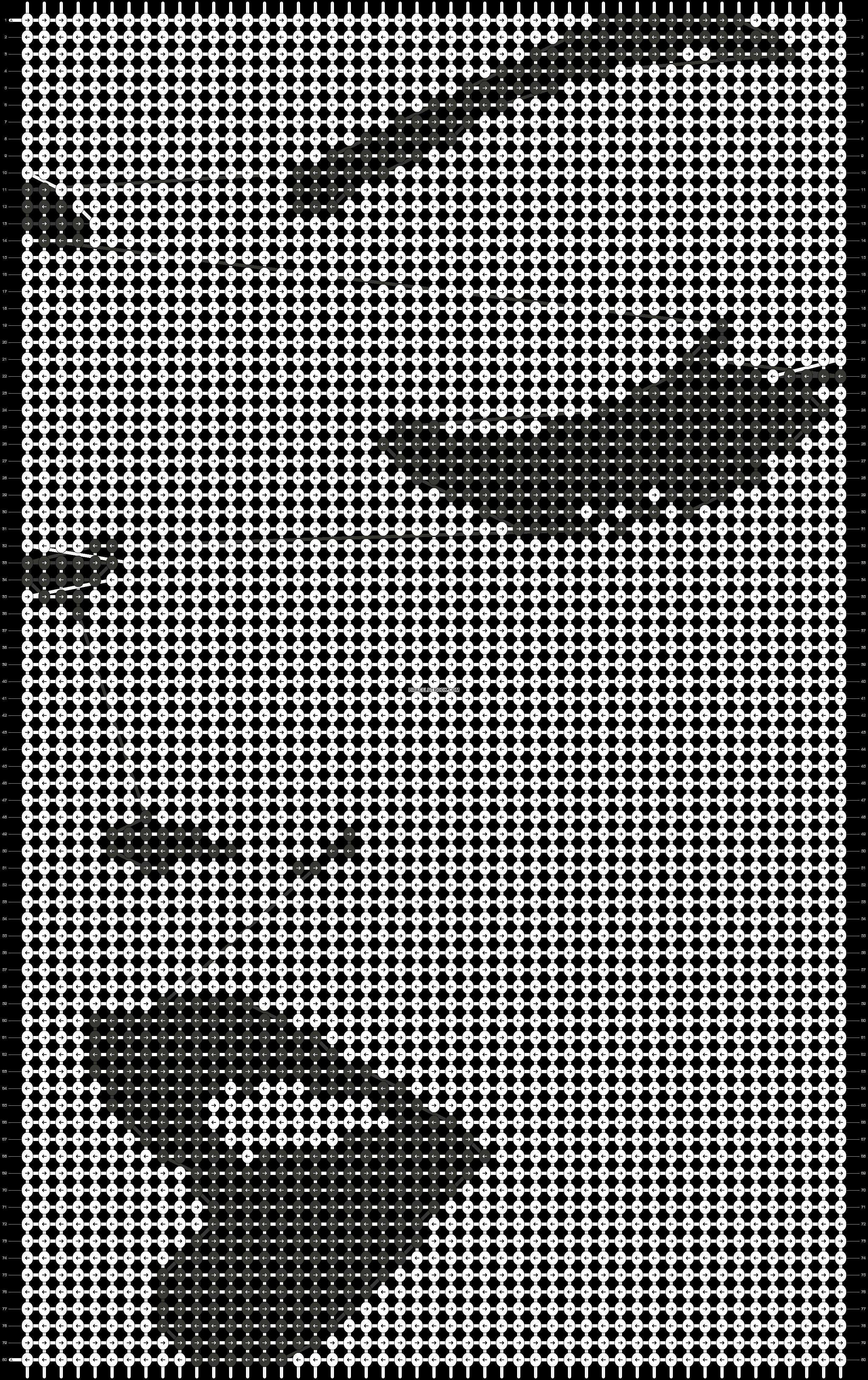 Alpha pattern #78675 pattern