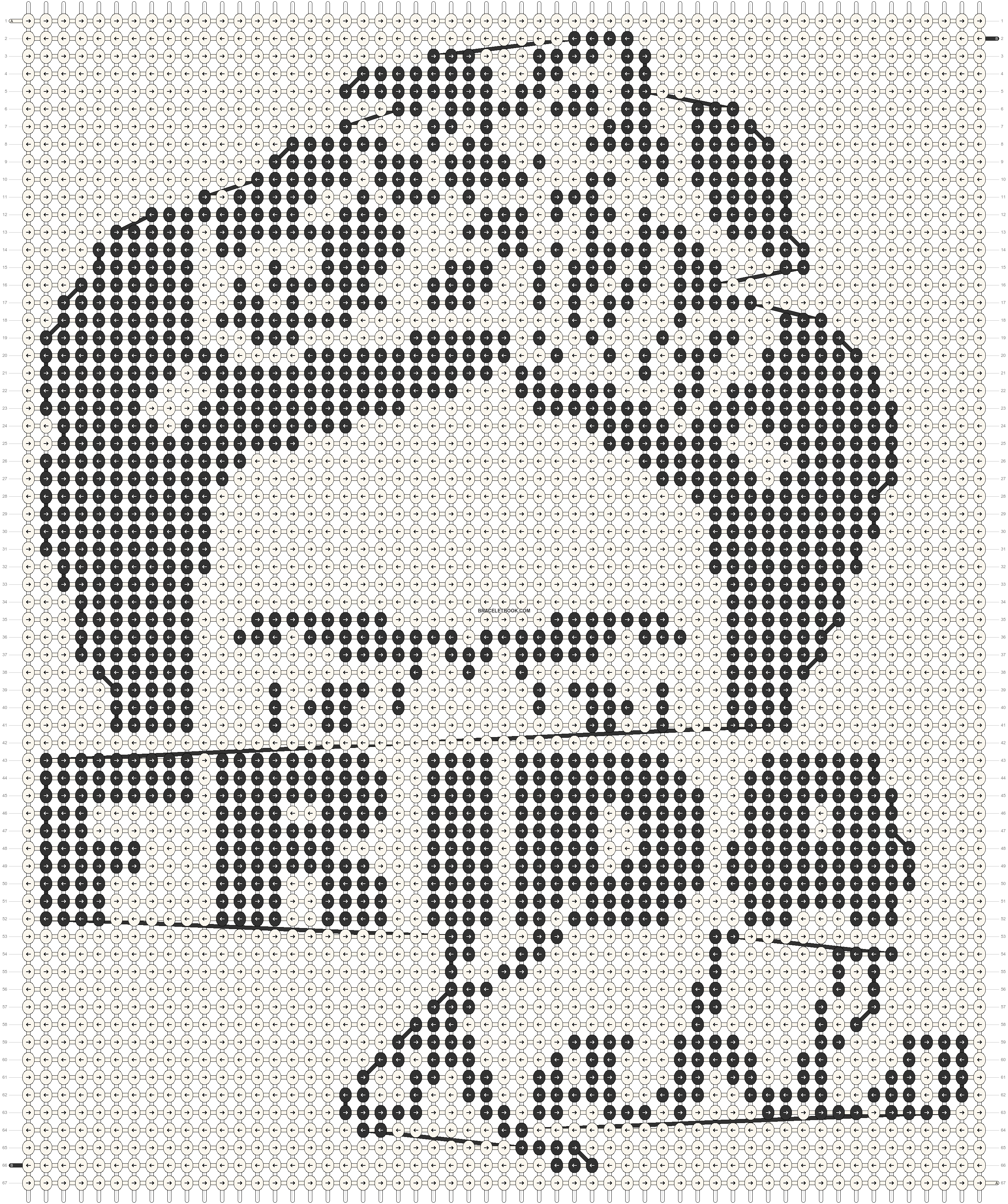 Alpha pattern #78692 pattern