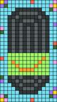 Alpha pattern #78737