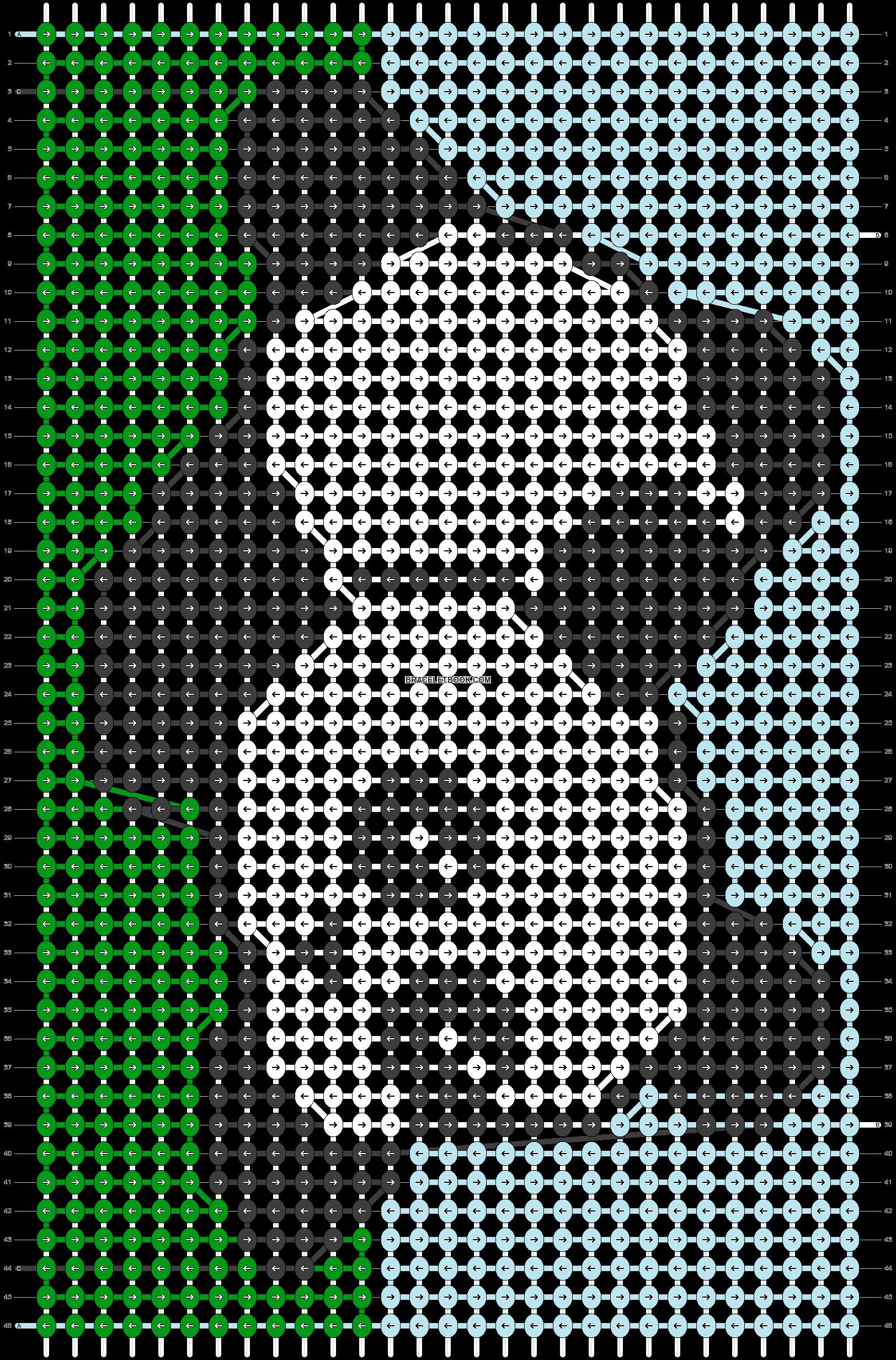 Alpha pattern #78770 pattern