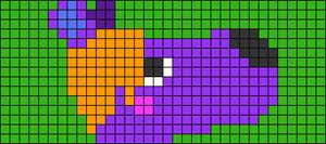 Alpha pattern #78806