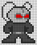 Alpha pattern #78823