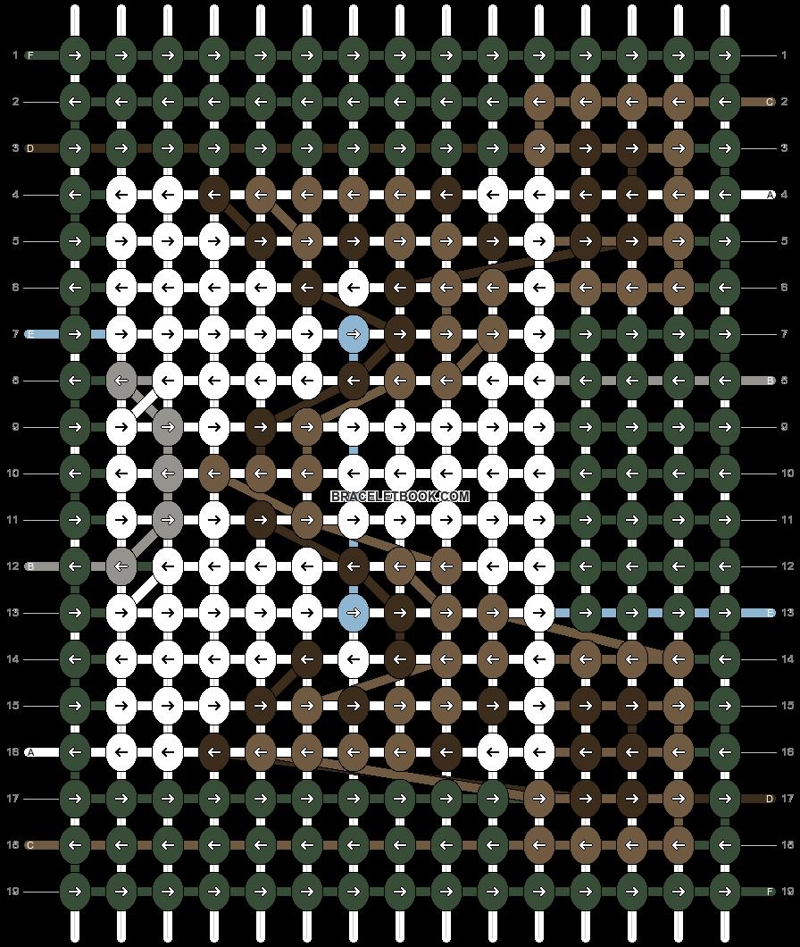 Alpha pattern #78840 pattern