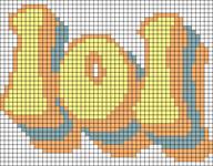 Alpha pattern #78909