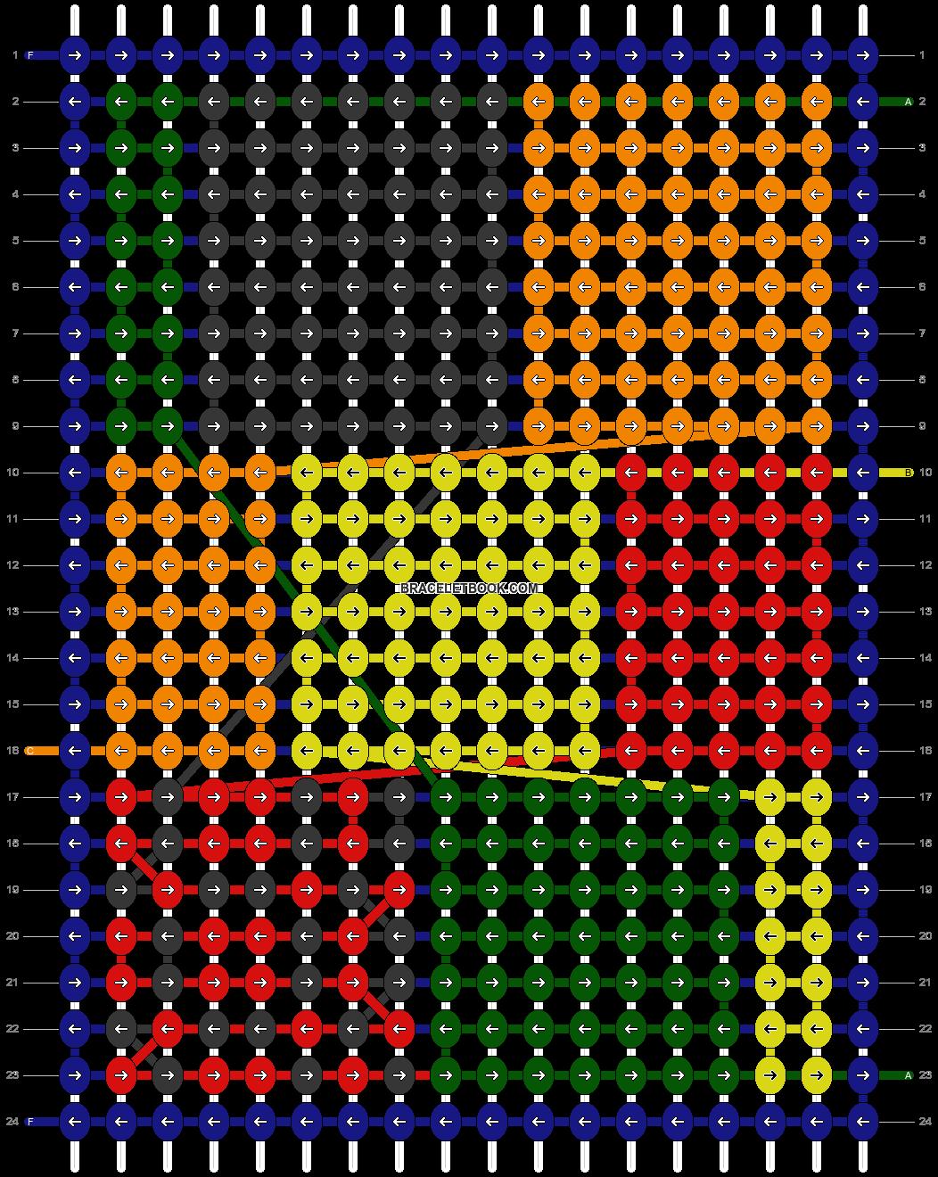 Alpha pattern #78927 pattern