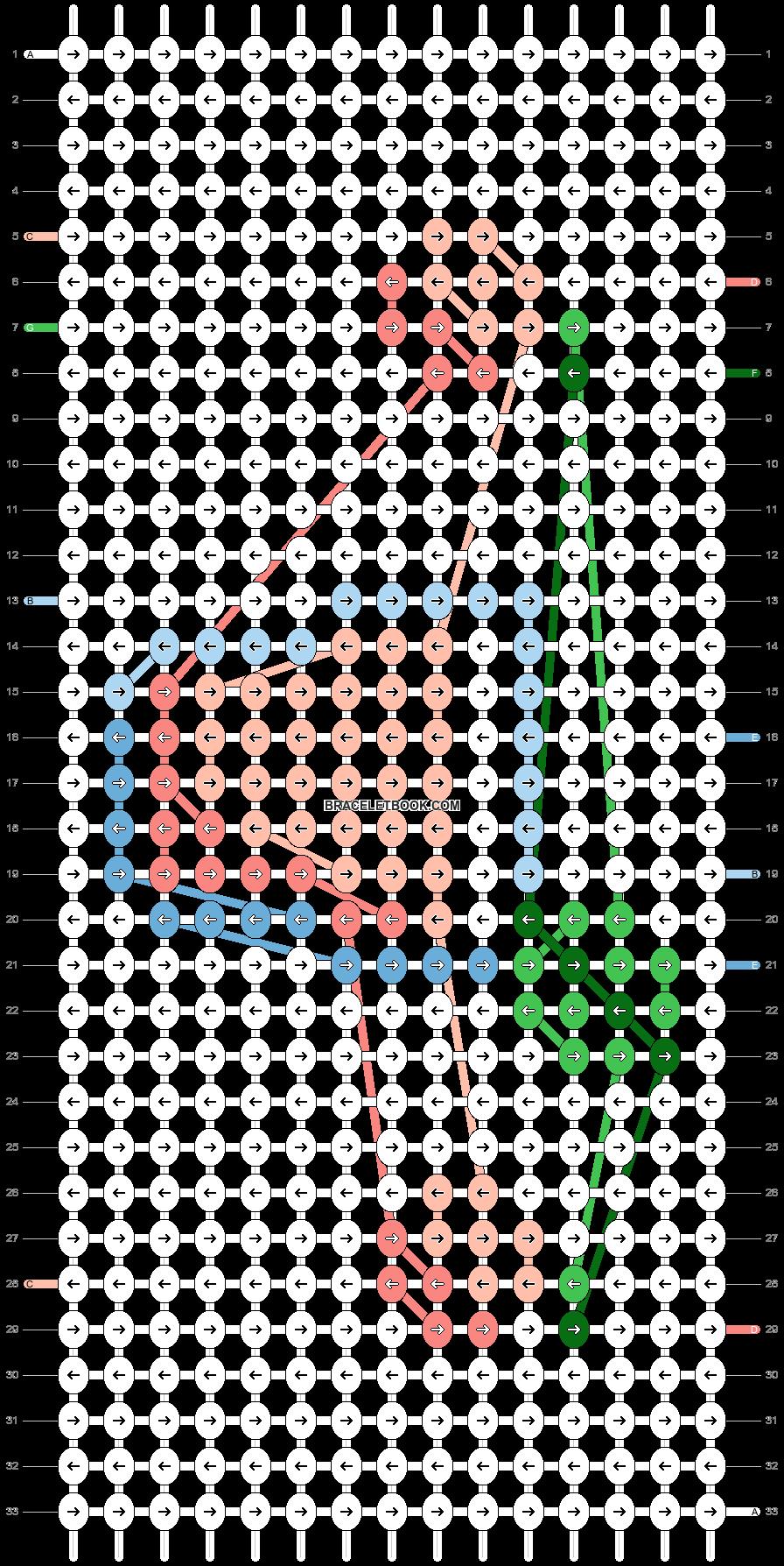 Alpha pattern #78948 pattern