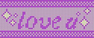 Alpha pattern #78962