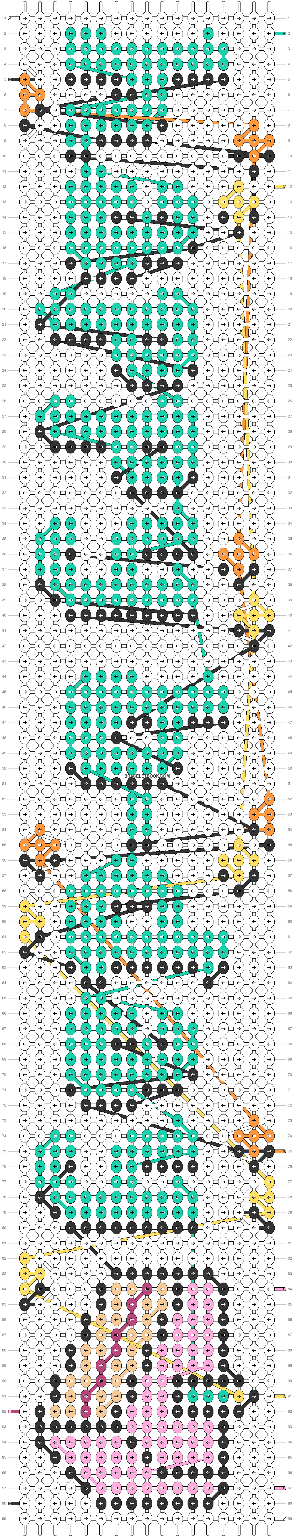 Alpha pattern #78965 pattern