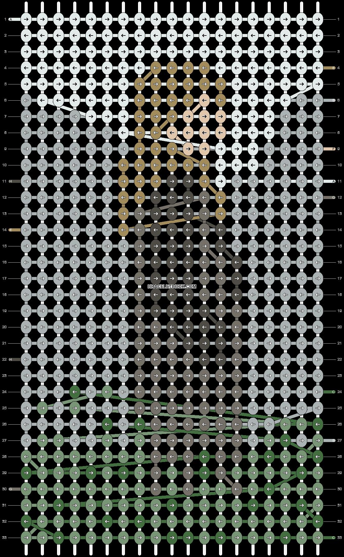 Alpha pattern #79006 pattern