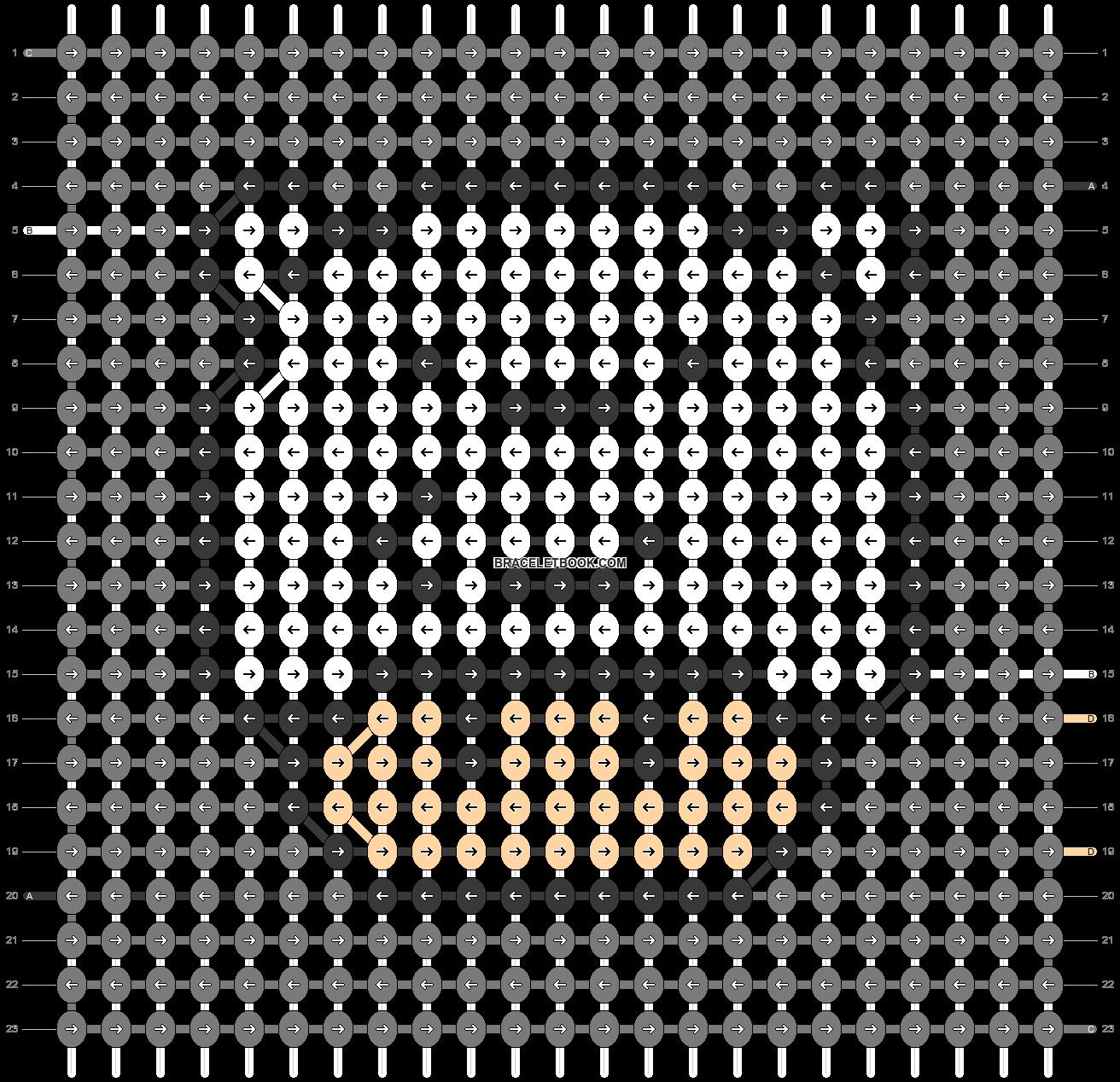 Alpha pattern #79015 pattern