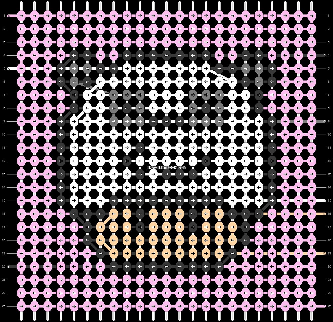 Alpha pattern #79018 pattern