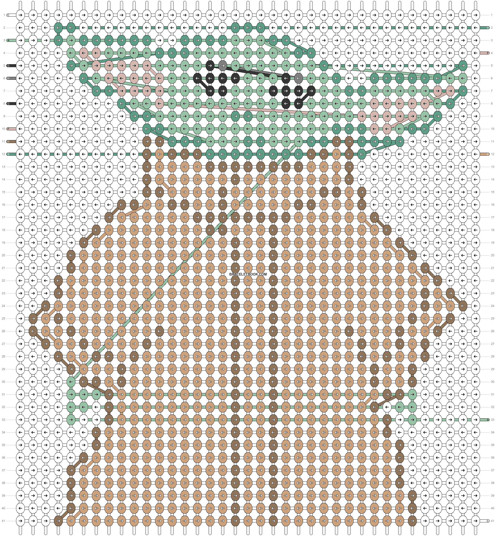 Alpha pattern #79024 pattern