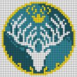 Alpha pattern #79131
