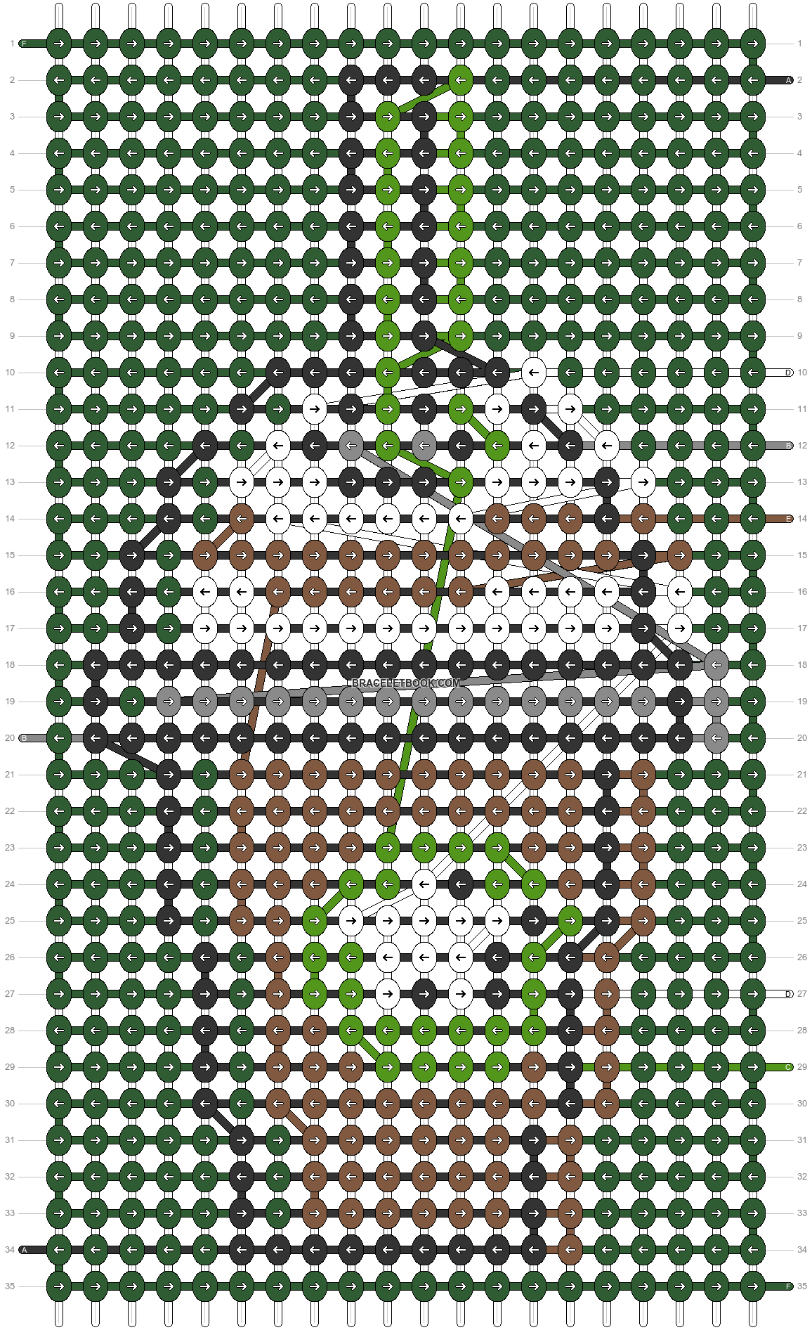 Alpha pattern #79145 pattern
