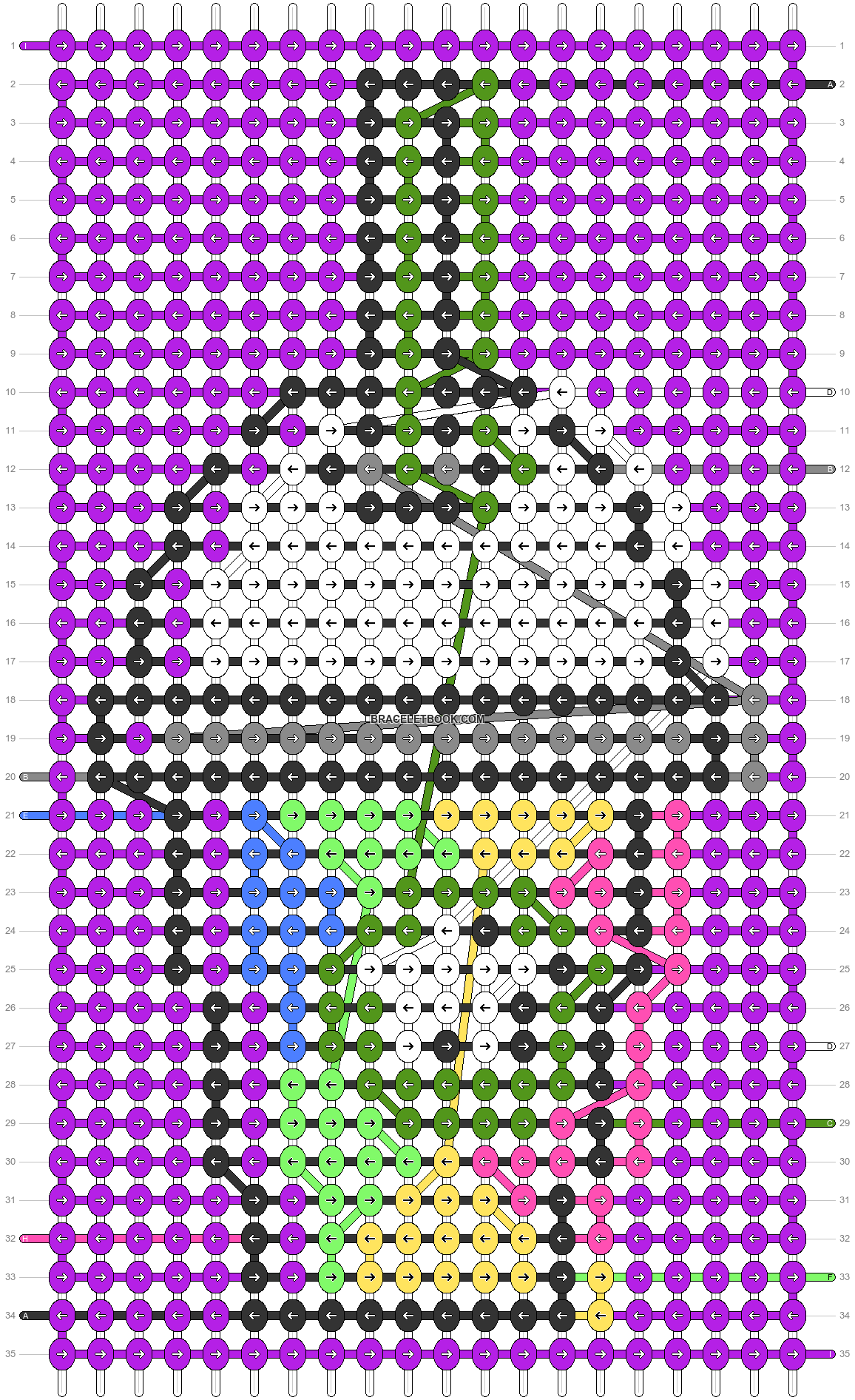 Alpha pattern #79151 pattern