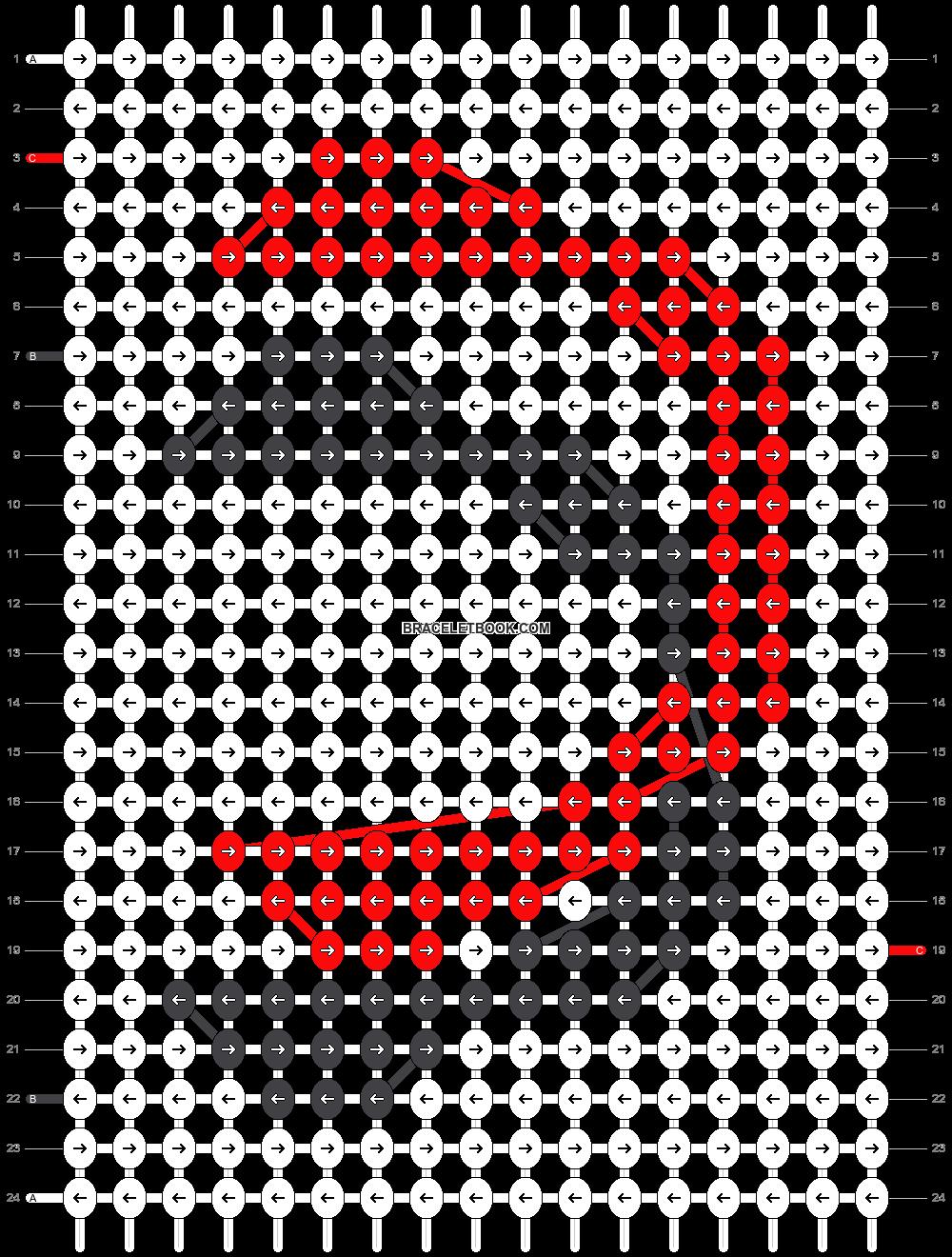 Alpha pattern #79180 pattern