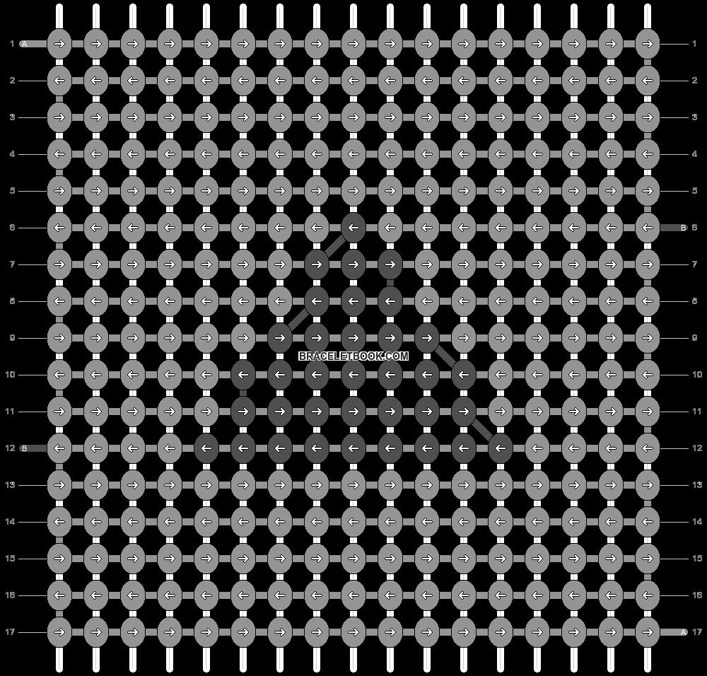 Alpha pattern #79195 pattern
