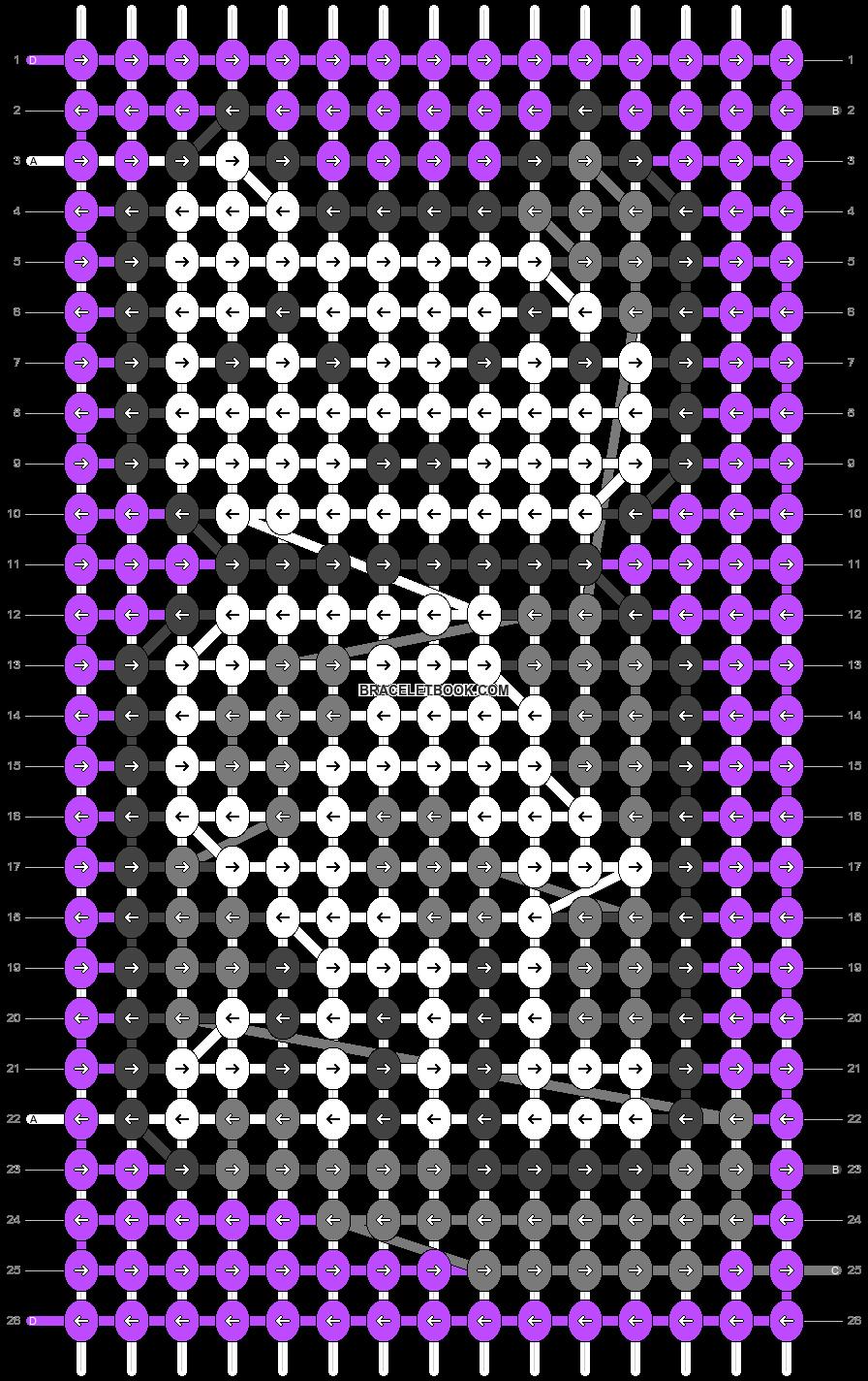 Alpha pattern #79226 pattern