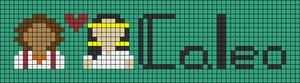 Alpha pattern #79237