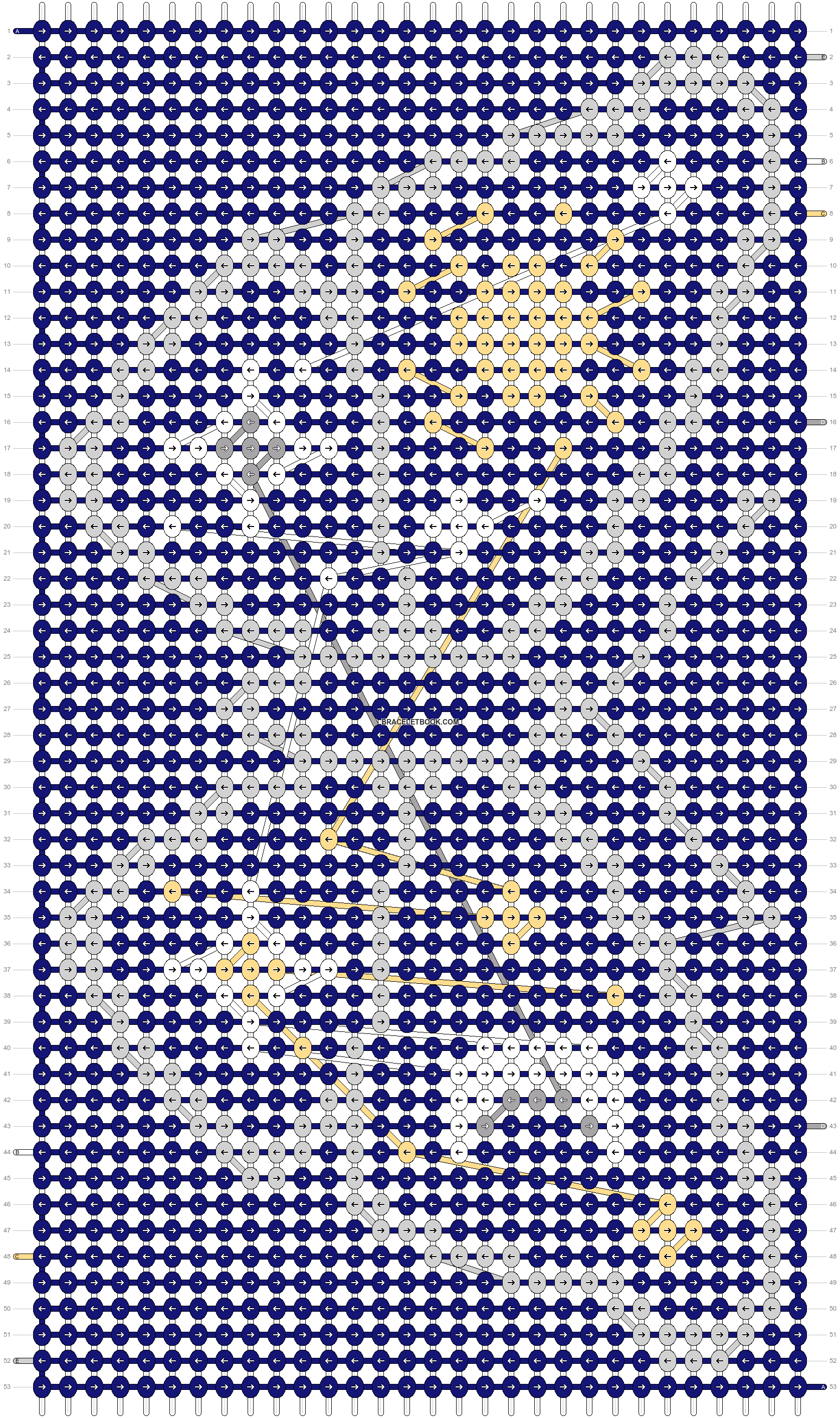 Alpha pattern #79242 pattern