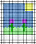 Alpha pattern #79300