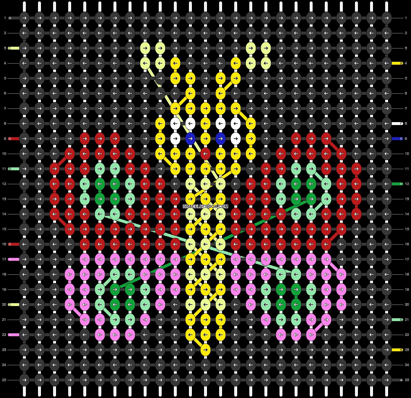 Alpha pattern #79304 pattern