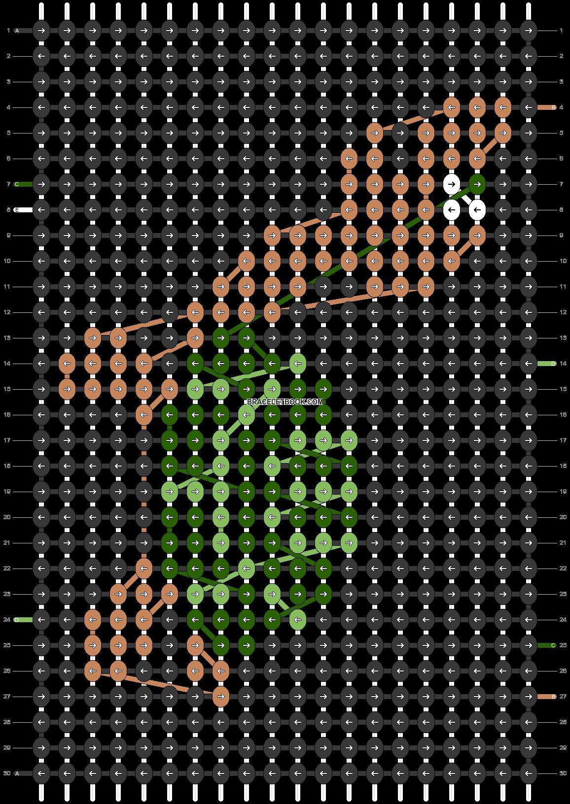 Alpha pattern #79306 pattern