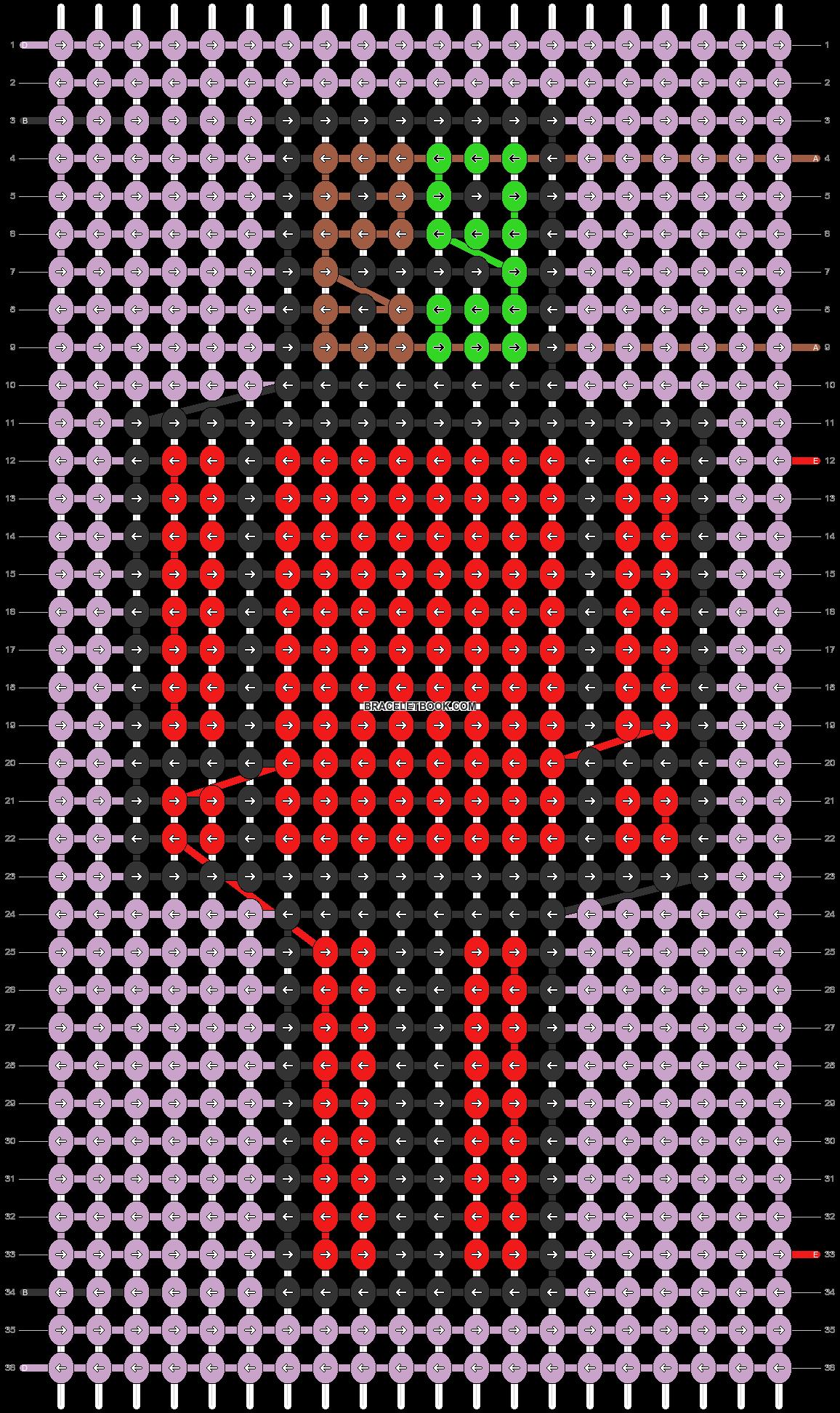 Alpha pattern #79328 pattern