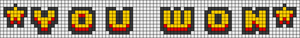 Alpha pattern #79370