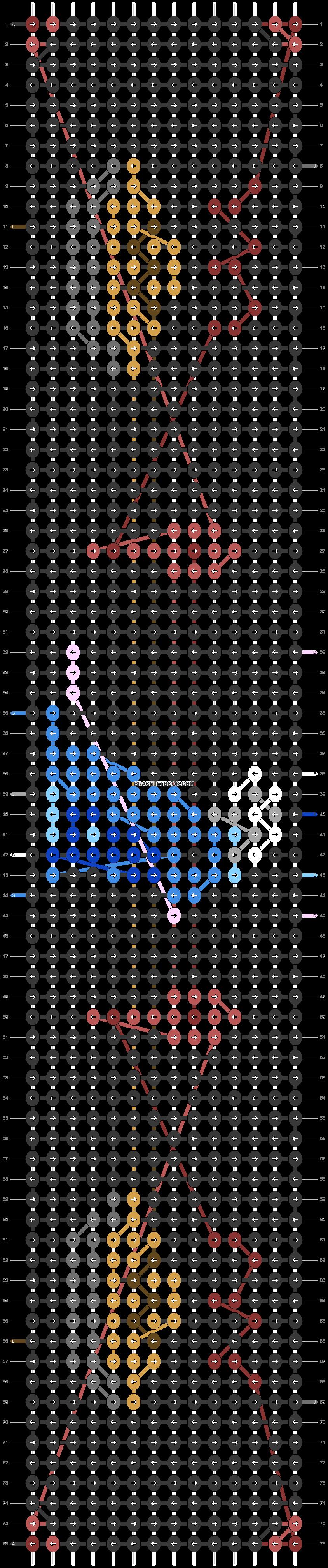 Alpha pattern #79428 pattern